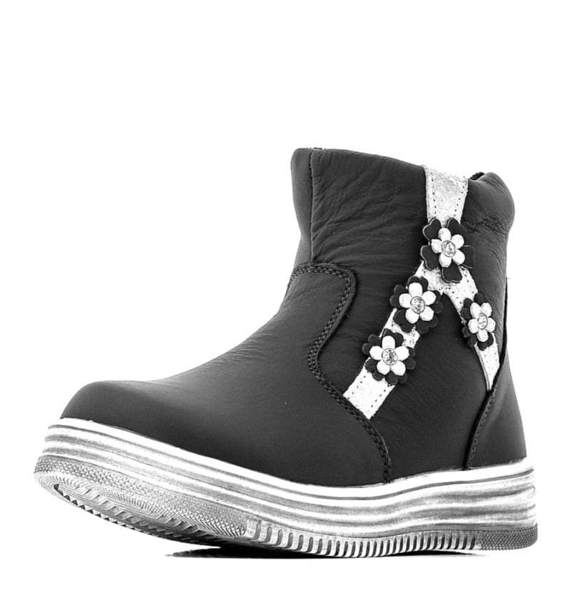 Детские ботинки для девочек ОРЛЕНОК из натуральной кожи