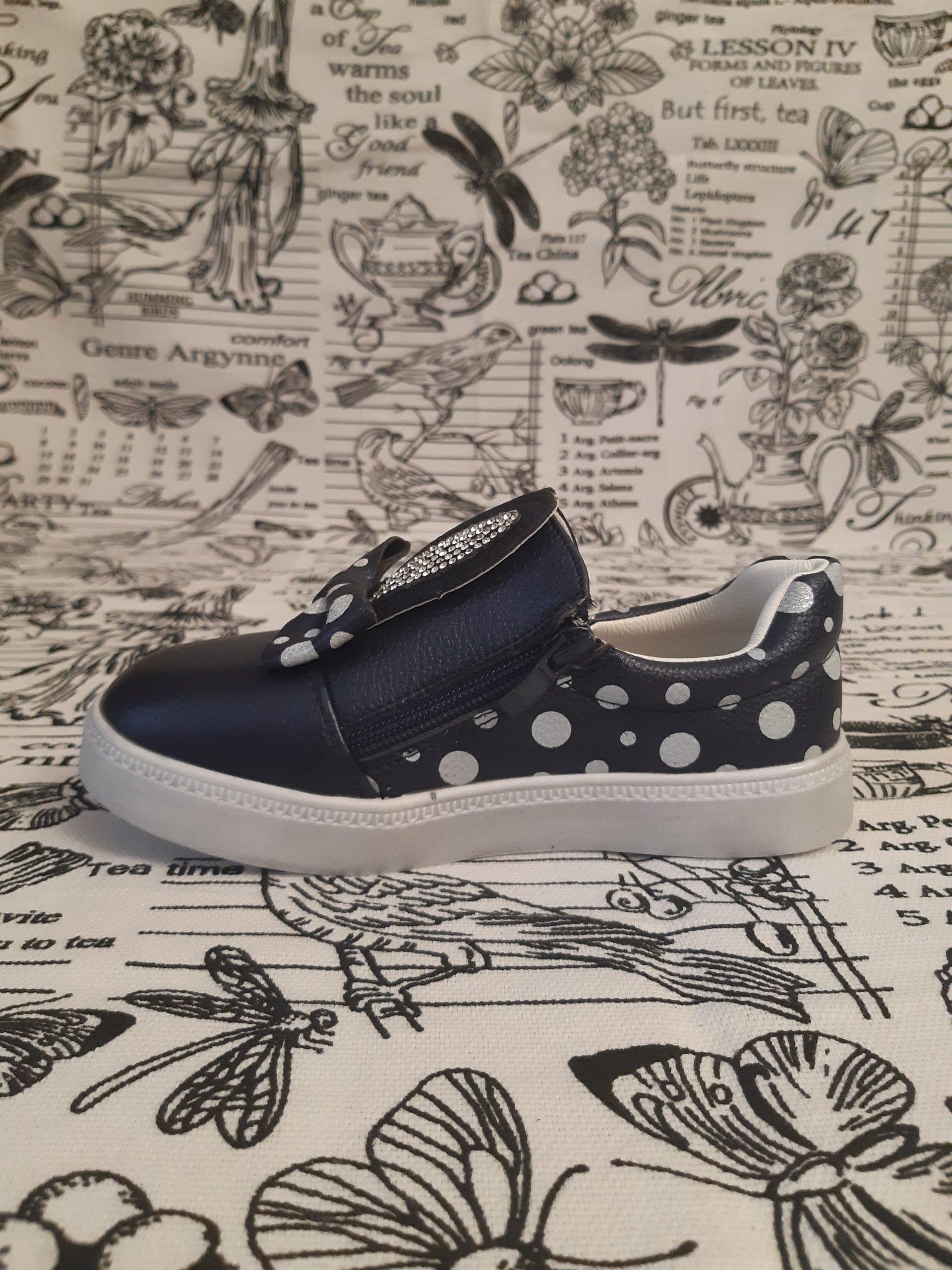 Детские туфли для девочек К-ДЕТСТВО, цвет: синий, артикул: KD149