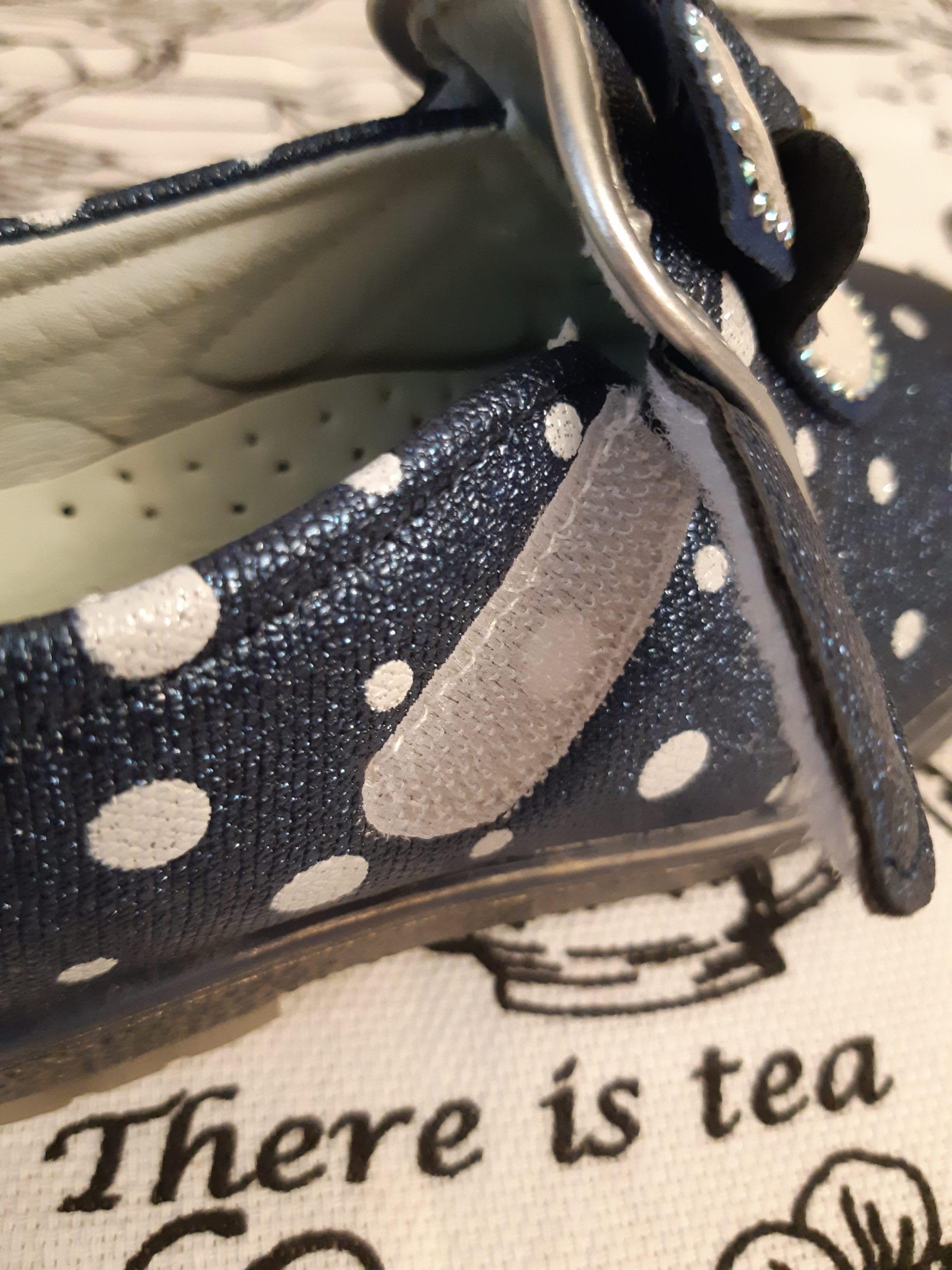 Детские туфли для девочек К-ДЕТСТВО, цвет: синий, артикул: KD147