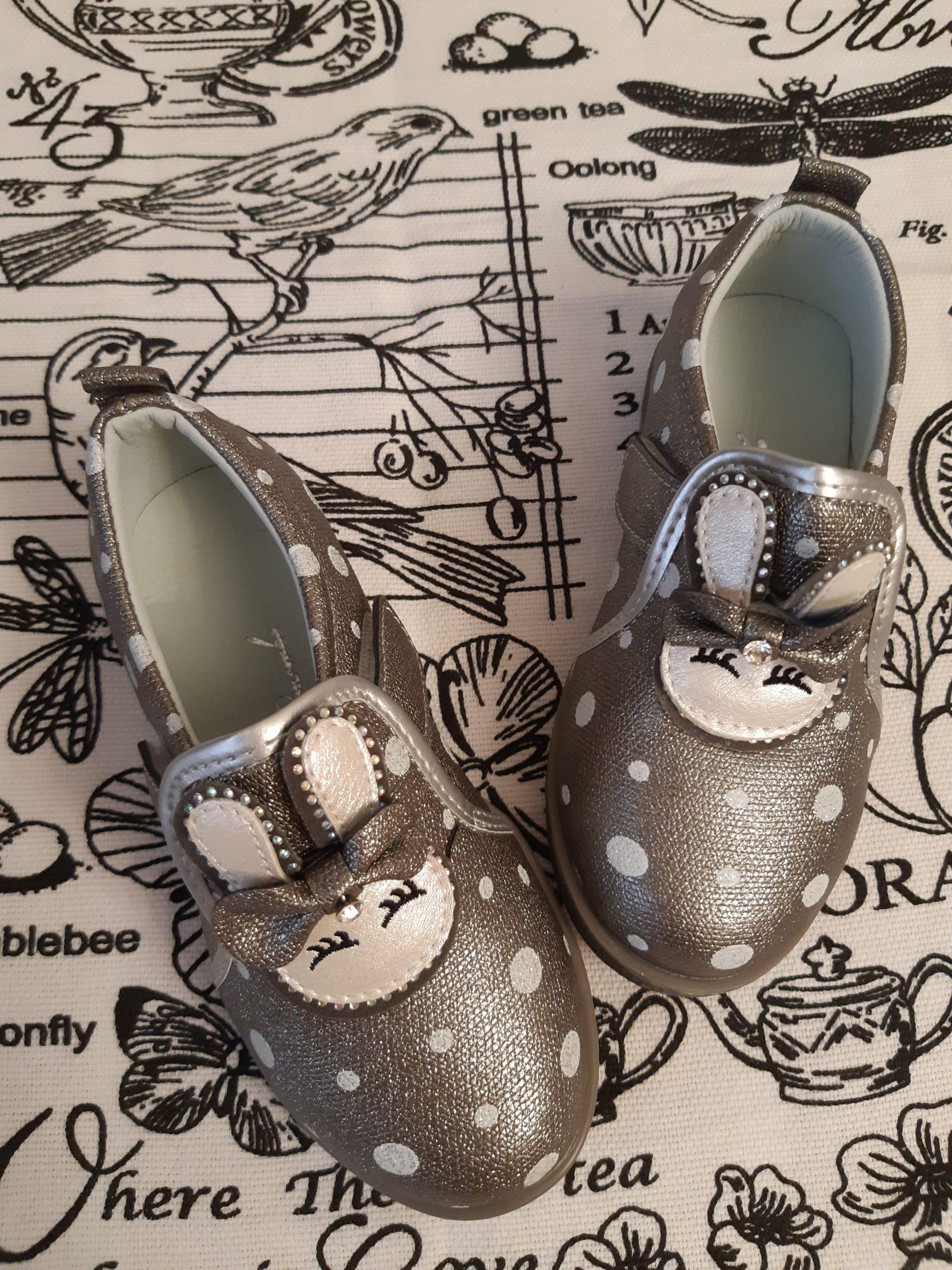 Детские туфли для девочек К-ДЕТСТВО, цвет: коричневый, артикул: KD148