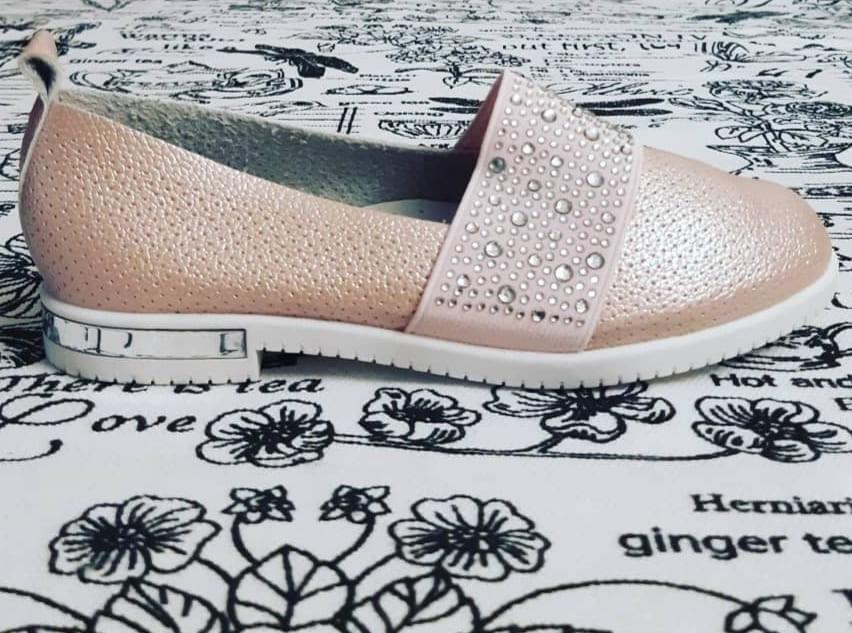Детские туфли для девочек ABBI