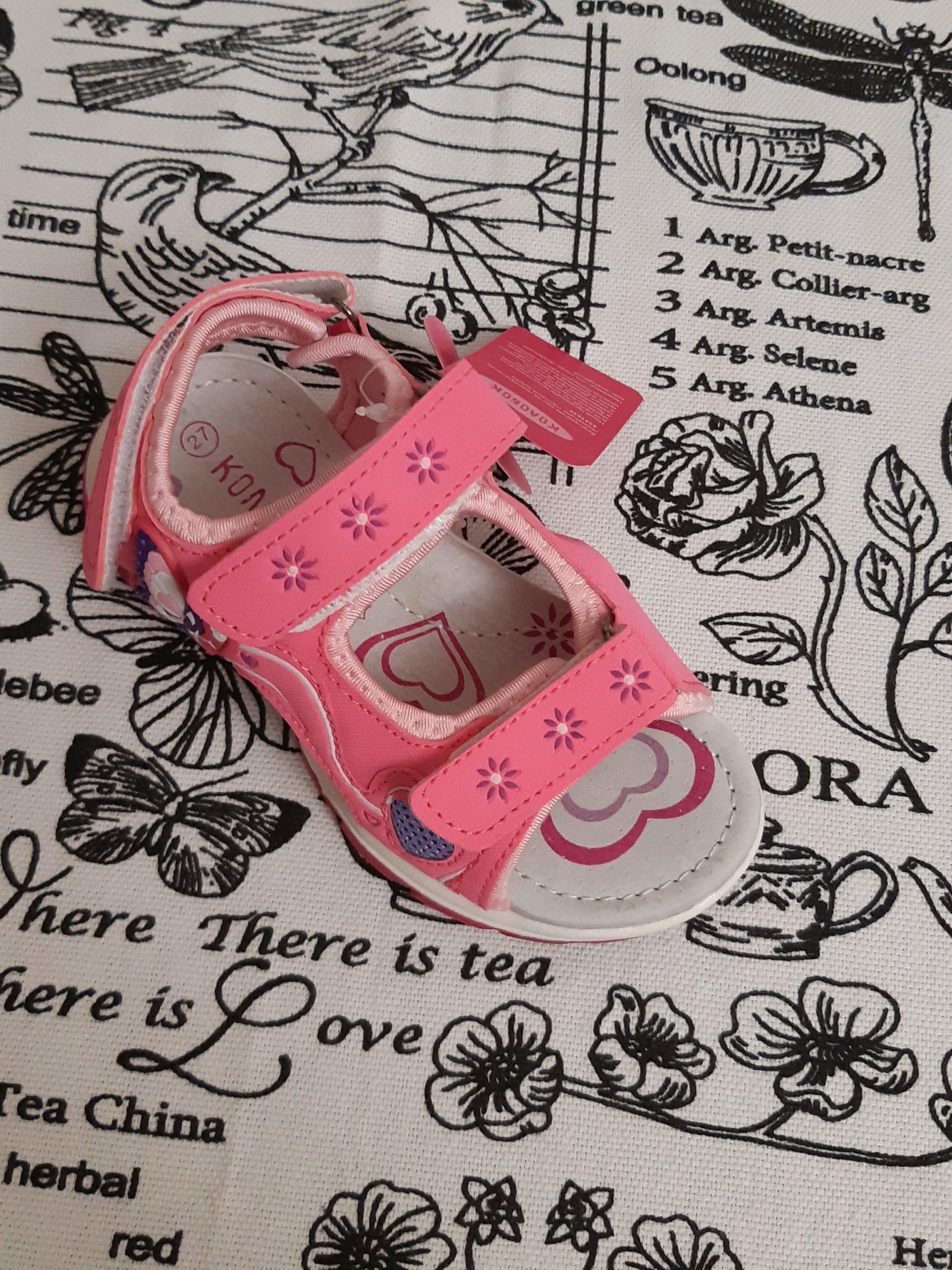 Детские сандалии для девочек КОЛОБОК
