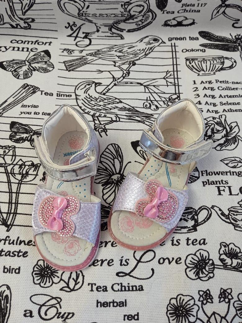 Детские сандалии для девочек ОТЛИЧНИК, артикул: SL8031C