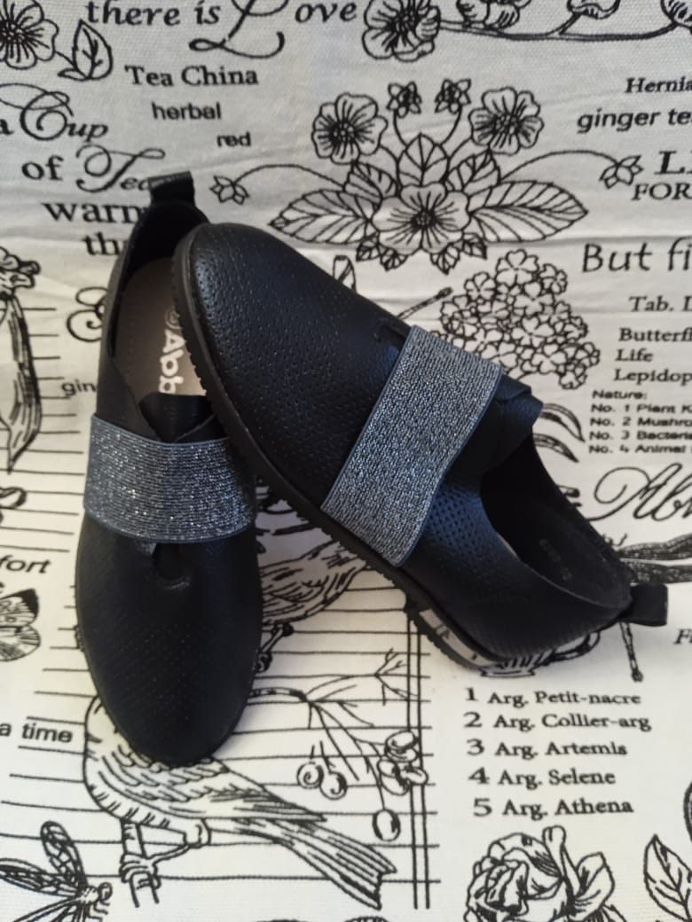 Детские туфли для девочек ABBI, цвет: темно-синий, артикул: 6290-46