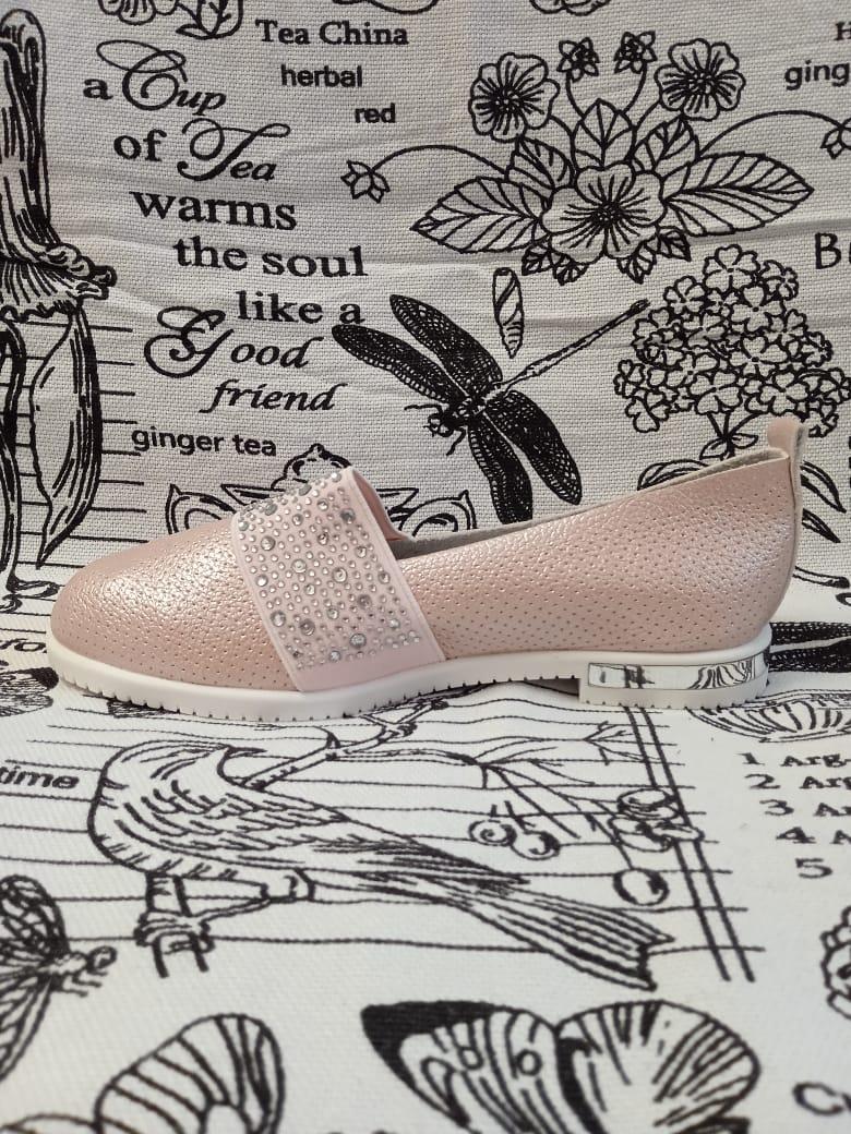 Детские туфли для девочек ABBI, артикул: 6290-38
