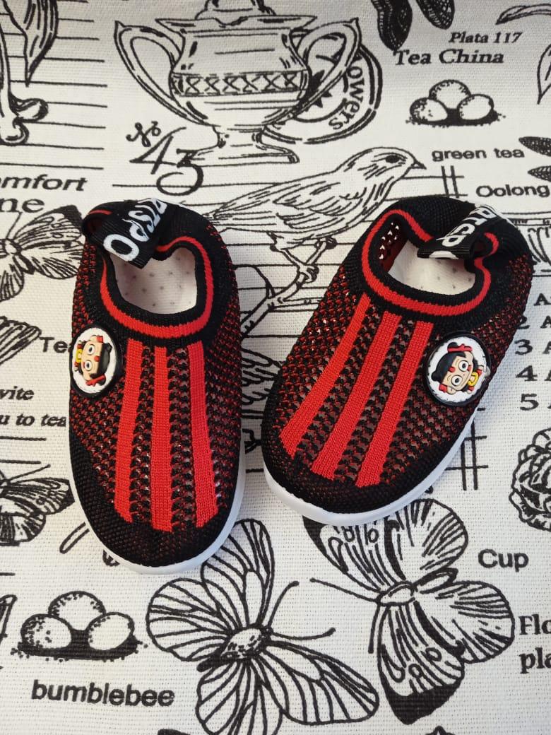 Детские кроссовки FEILI, цвет: черный, артикул: 705