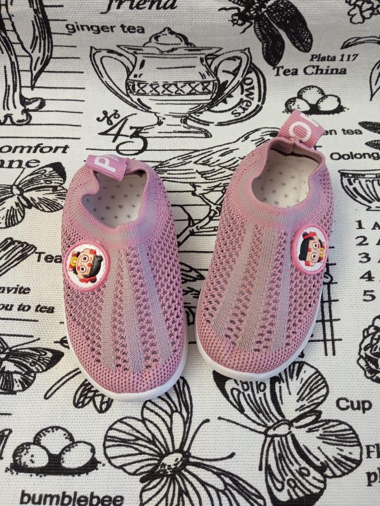 Детские кроссовки для девочек FEILI, цвет: розовый, артикул: 705-1