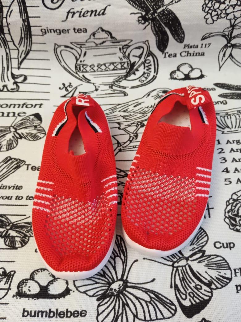 Детские кроссовки FEILI, цвет: красный, артикул: 536-5