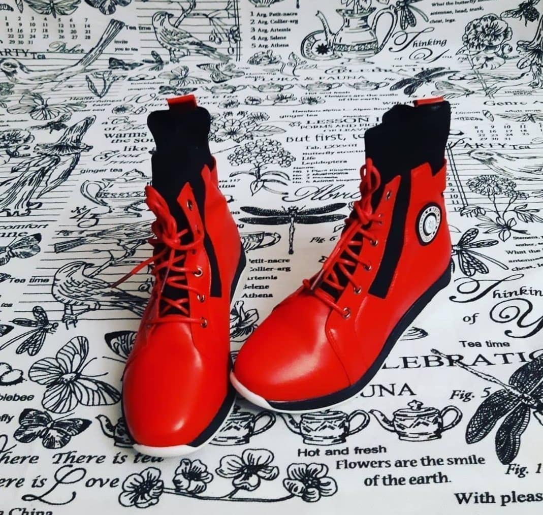 Детские ботинки для девочки EAC