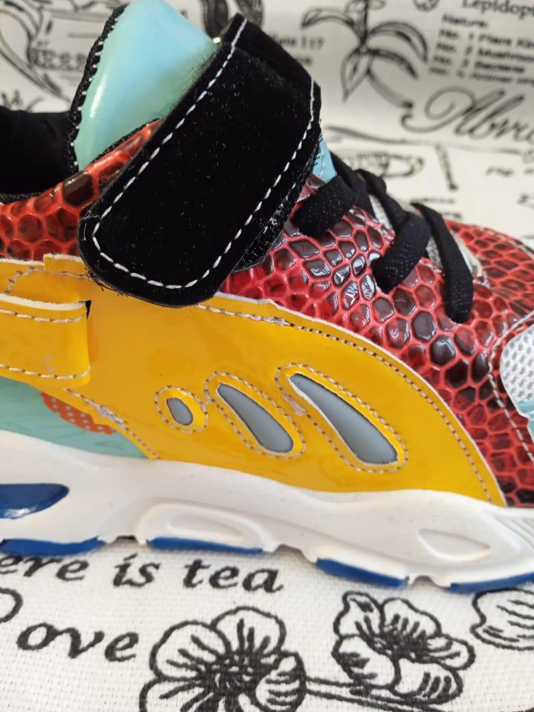 Детские кроссовки универсальные, цвет: салатовый, артикул: LIT2