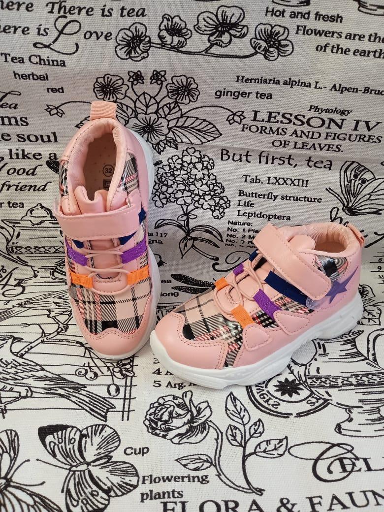 Детские кроссовки для девочек, цвет: розовый, артикул: LIT1