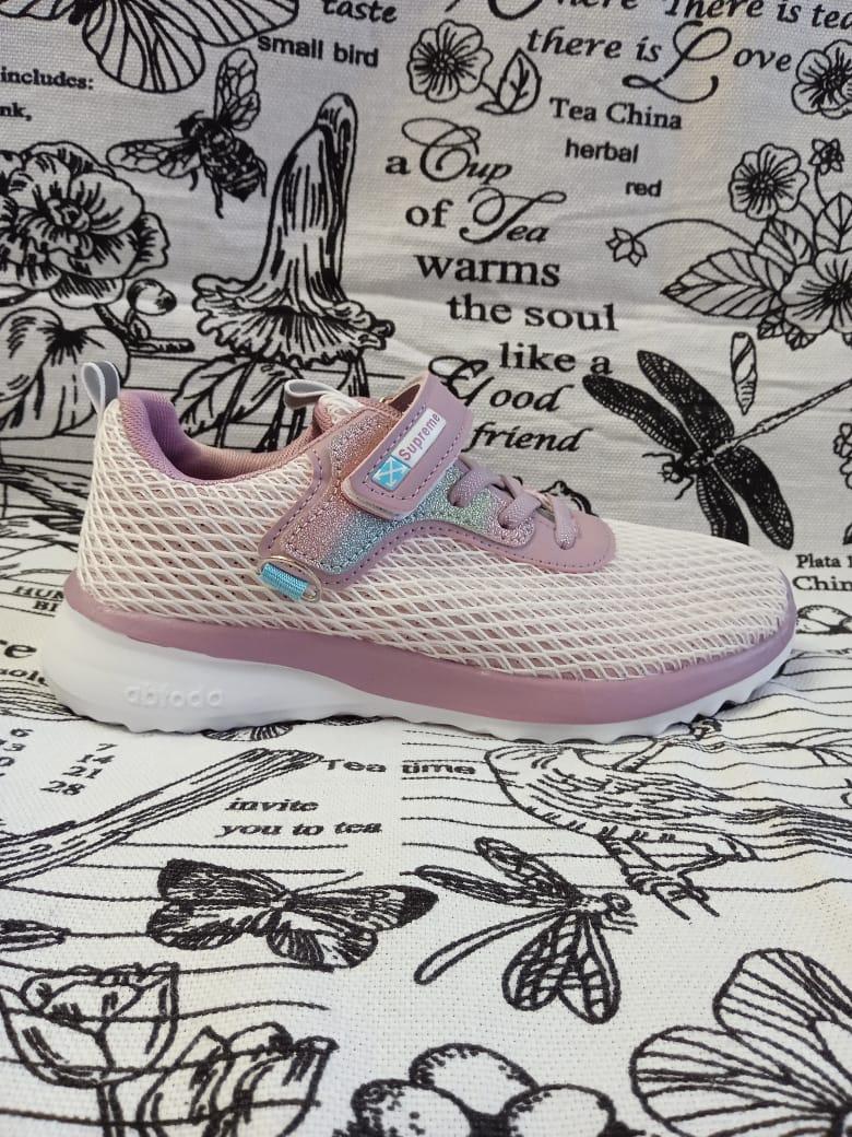 Детские кроссовки для девочек B&G, цвет: фиолетовый, артикул: 7912