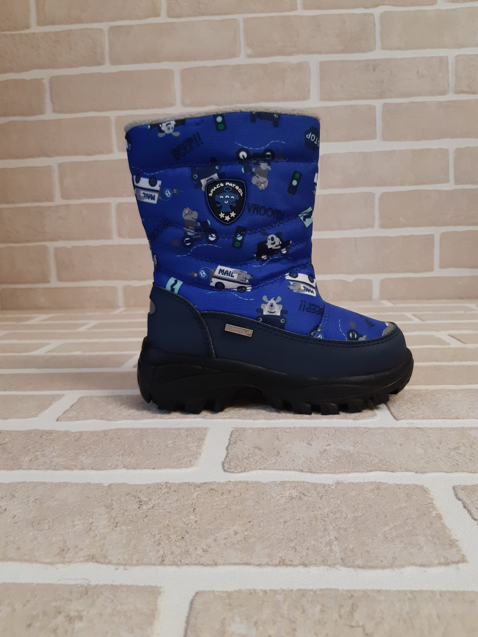 Детские ботинки зимние для мальчиков MILTON