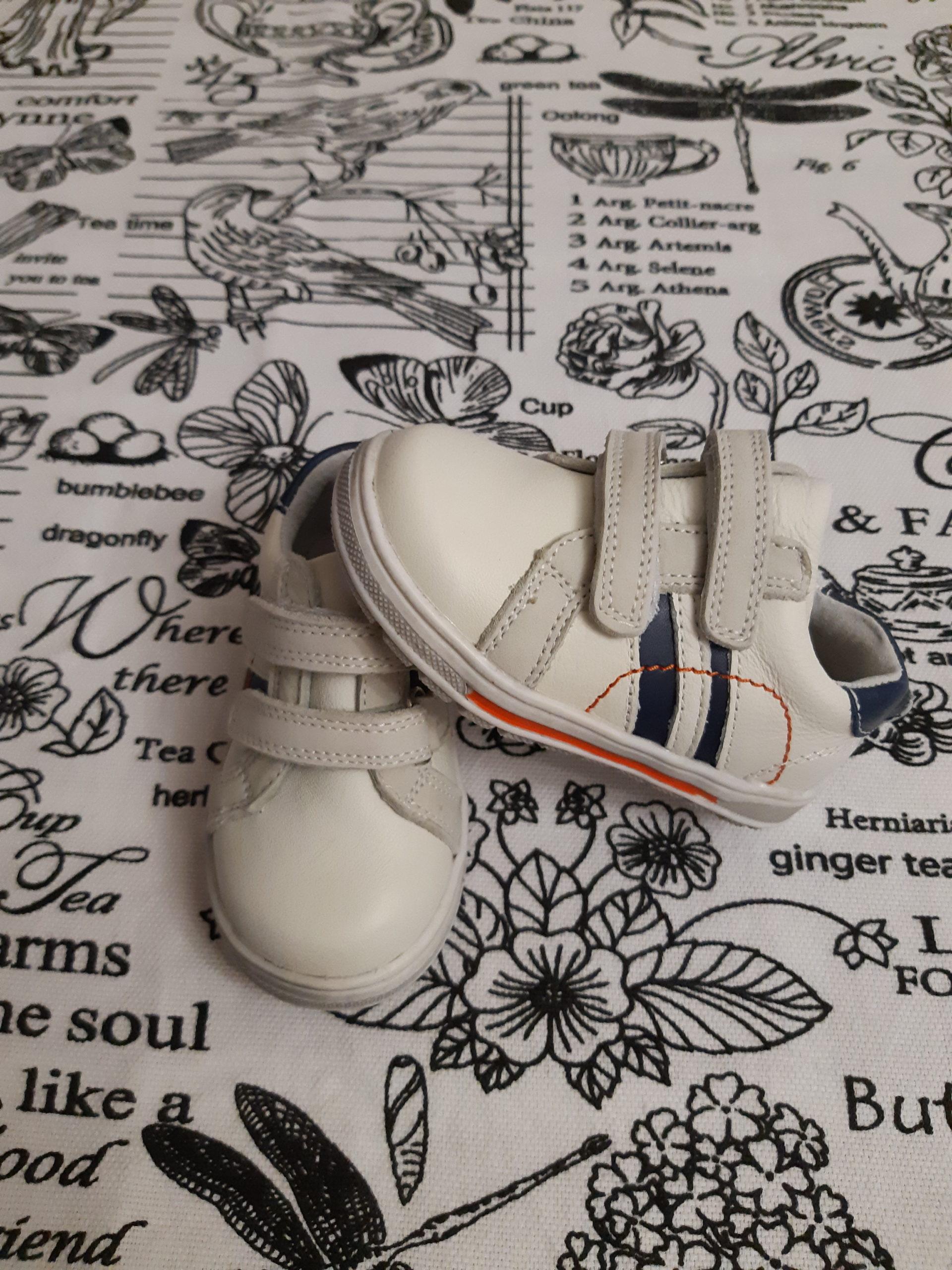 Детские кроссовки ОРЛЕНОК из натуральной кожи