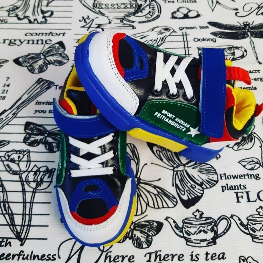 Детские кроссовки для мальчиков МЫШОНОК
