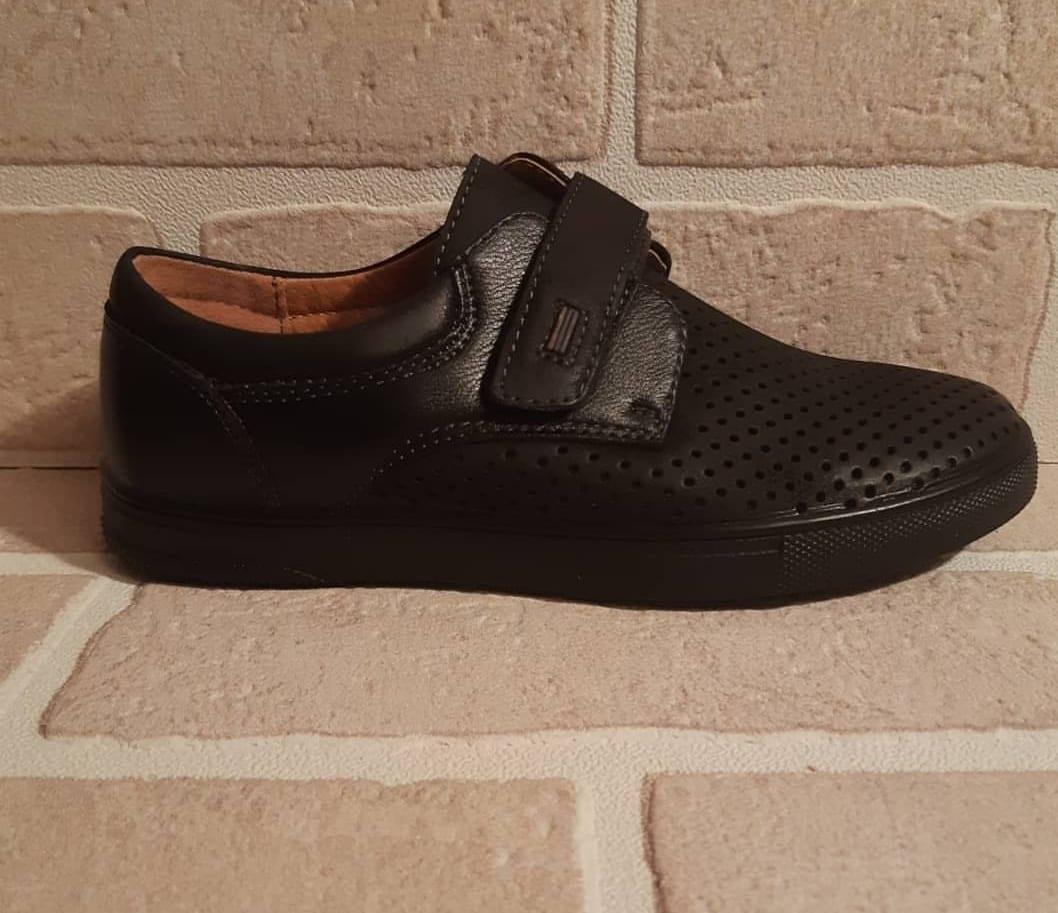Детские туфли школьные для мальчиков ABBI
