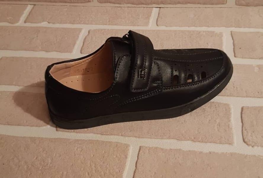 Детские туфли школьные для мальчиков ТОТОШКА
