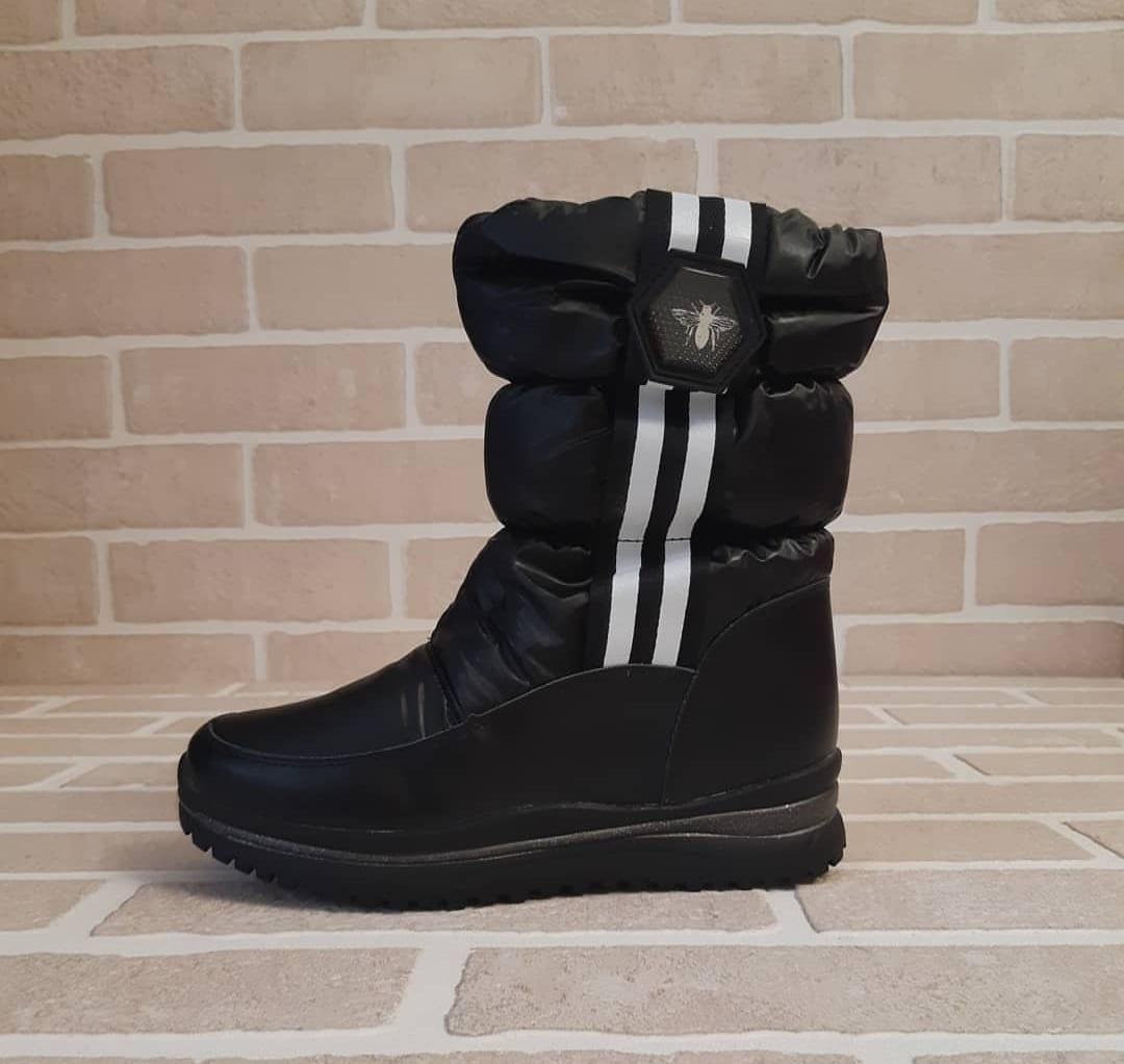 Детские ботинки зимние для девочек КАНАРЕЙКА