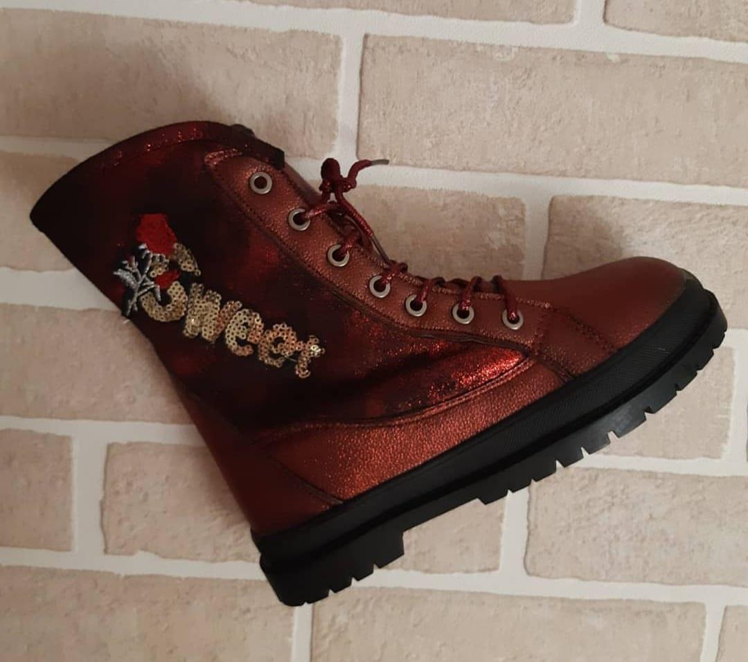 Детские ботинки зимние для девочек JONG.GOLF,