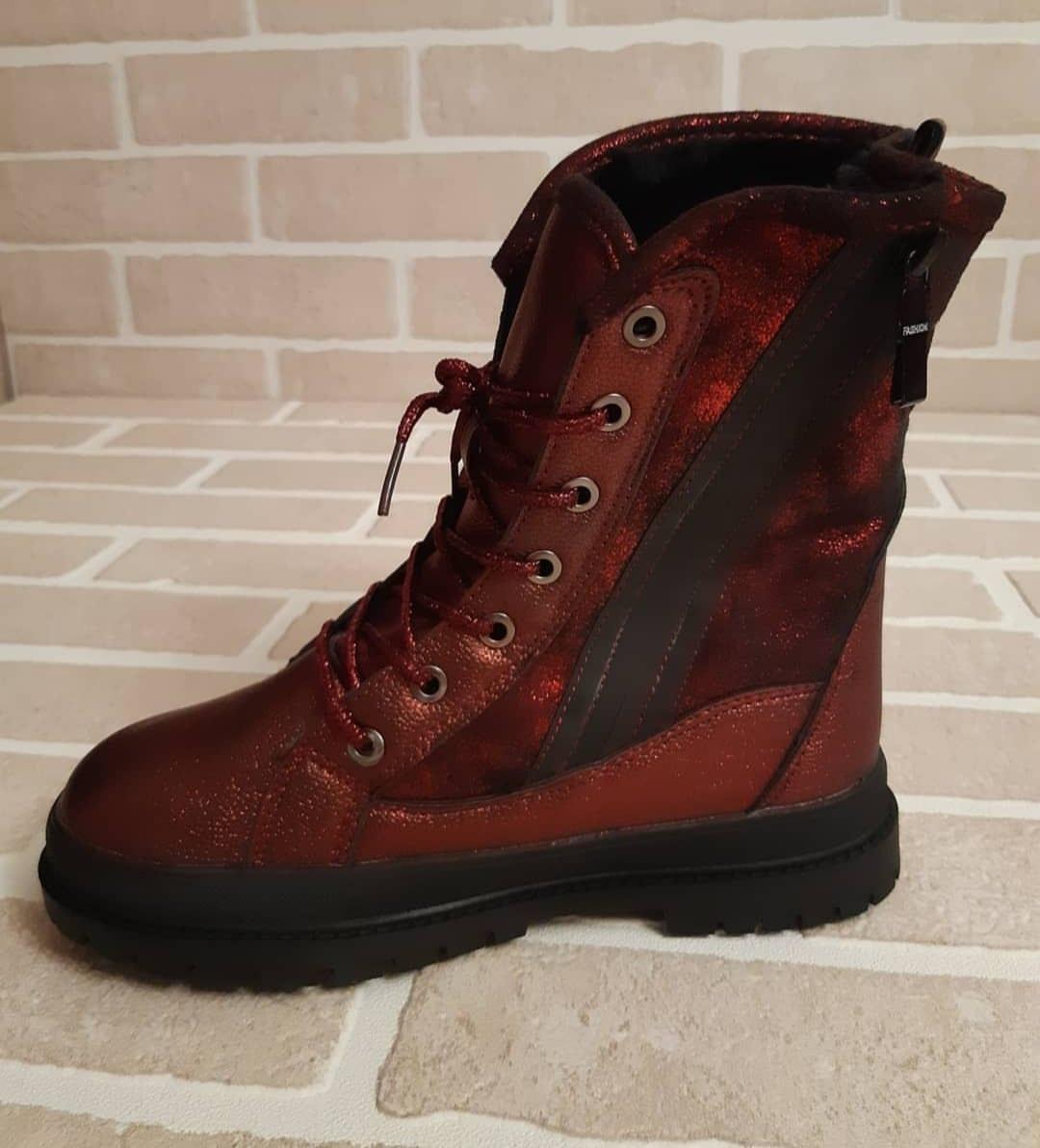 Детские ботинки зимние для девочек JONG.GOLF