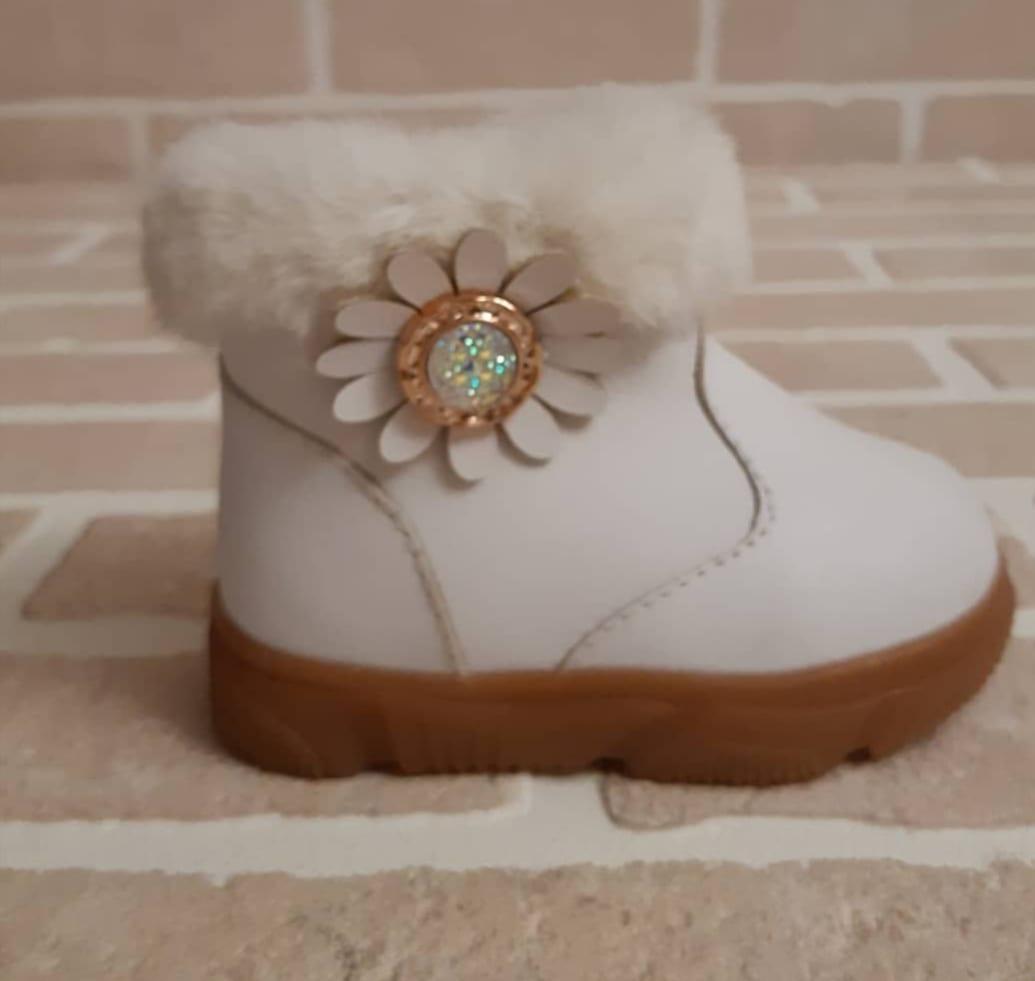 Детские ботинки зимние для девочек КОРОНА