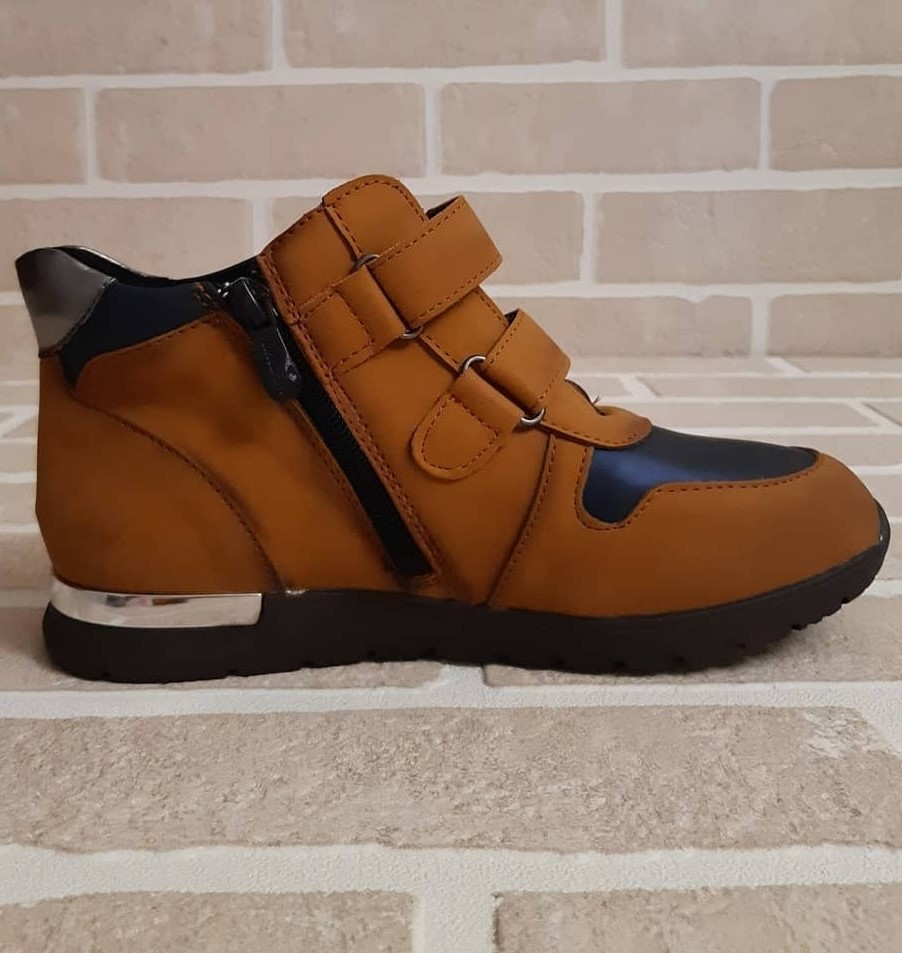 Детские ботинки, цвет: бежевый, артикул: MAI-2