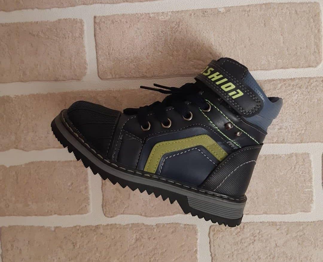 Детские ботинки для мальчиков ЗОЛОТОЙ БАШМАК