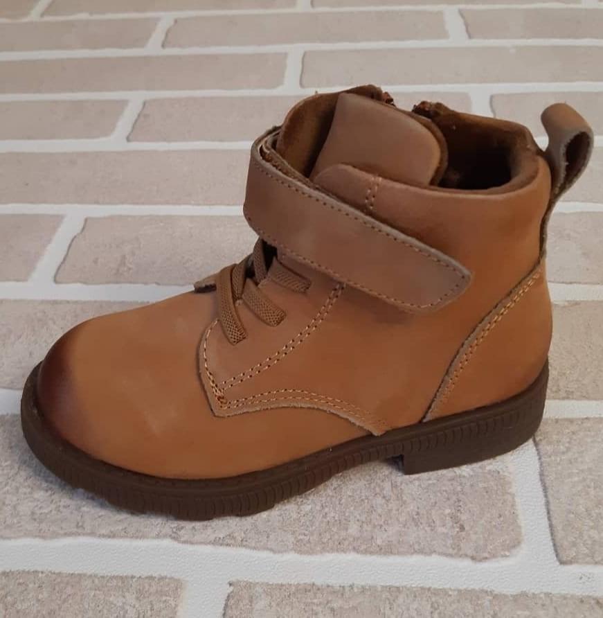 Детские ботинки КАПИТОШКА из натуральной кожи