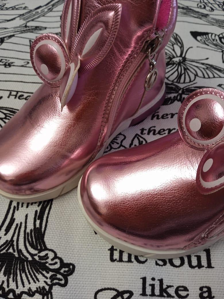 Детские ботинки для девочек GPB, цвет: розовый, артикул: GPB-1