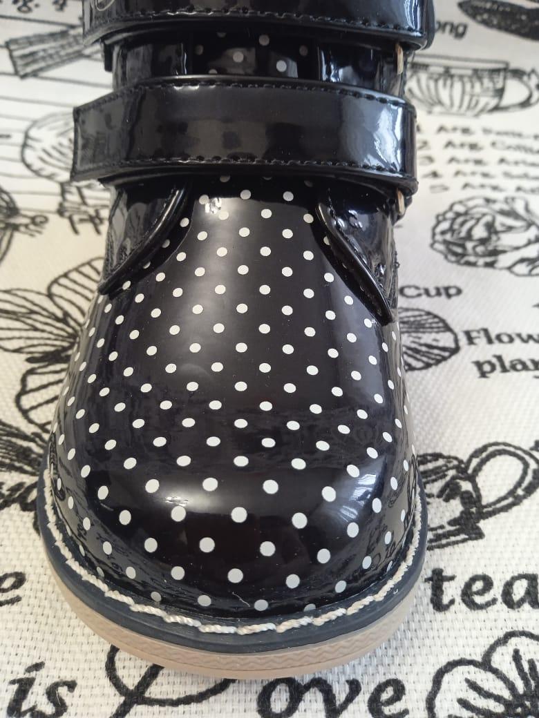 Детские ботинки для девочек СКАЗКА, цвет: синий, артикул: SKA-2