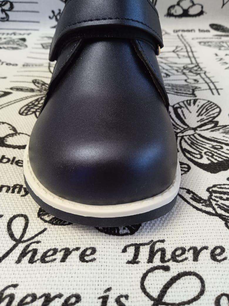 Детские ботинки для девочки, цвет: синий, артикул: DO-1