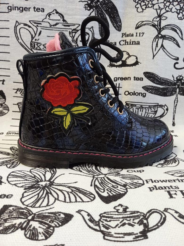 Детские ботинки для девочки СМЕЛЫЙ СКУБИ, цвет: синий, артикул: СК-У