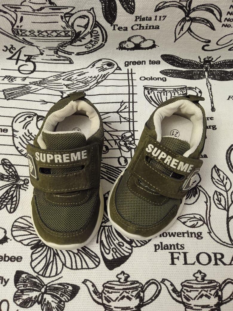 Детские кроссовки для мальчиков МИКАСА, цвет: хаки, артикул: WM71-1