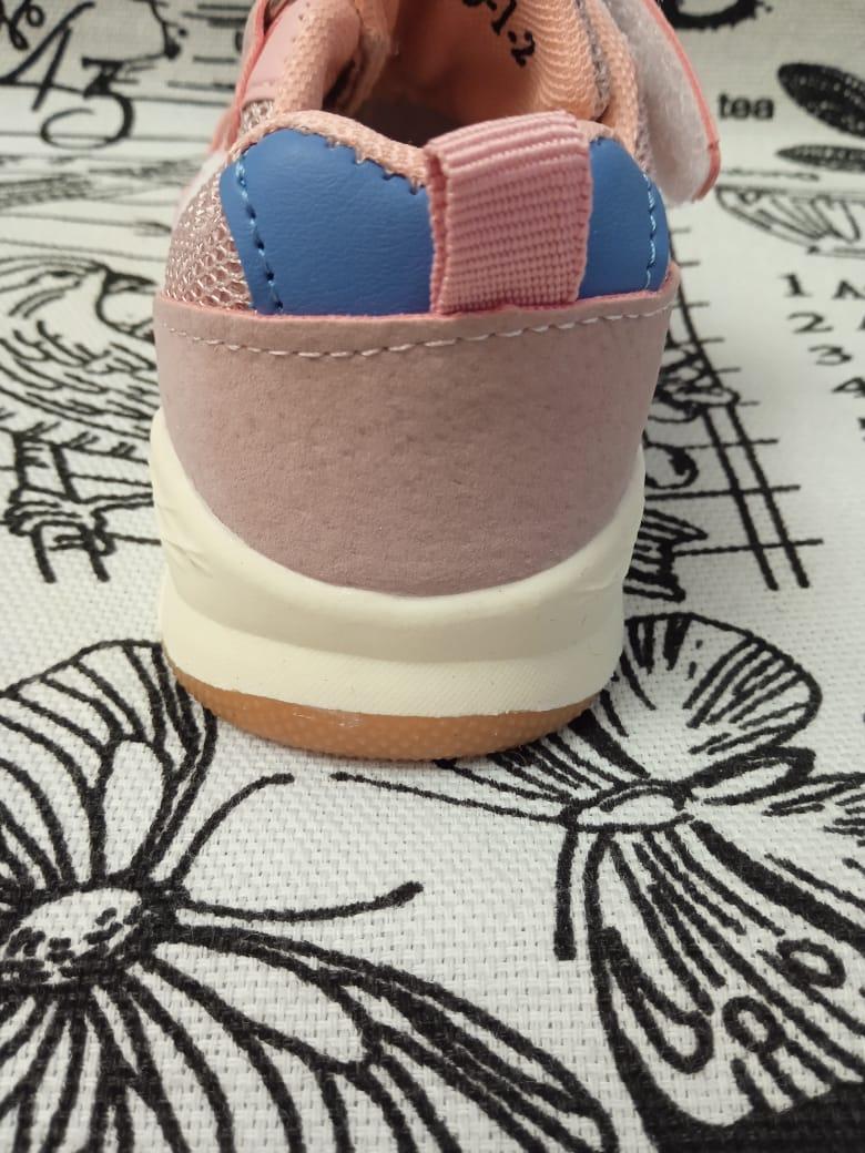 Детские кроссовки для девочек МИКАСА цвет: фиолетовый, артикул: WV68-1