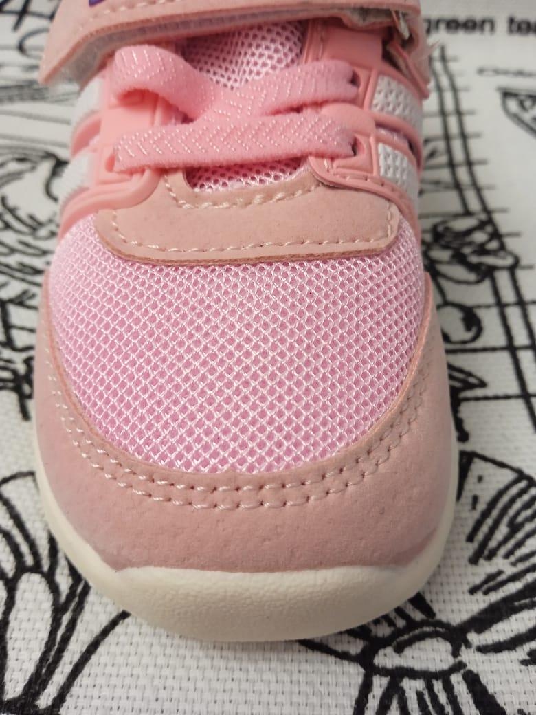 Детские кроссовки для девочек МИКАСА, цвет: розовый, артикул: WV68-1-2