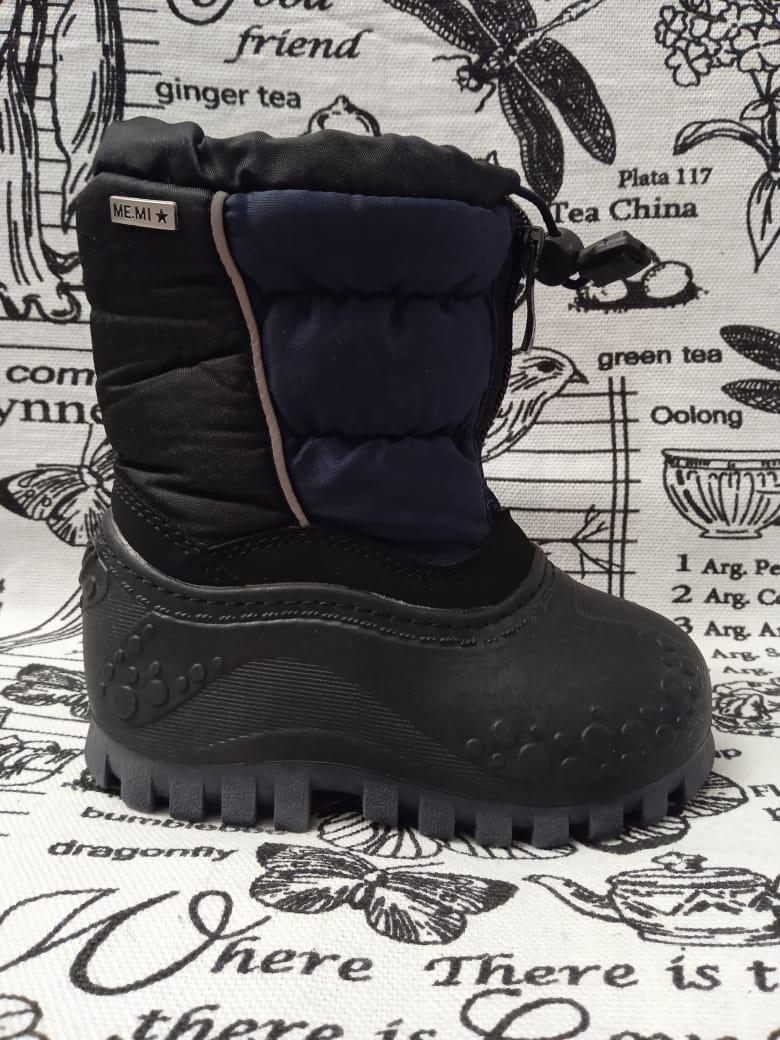 Детские ботинки зимние для мальчиков ТОТОШКА, цвет: синий, артикул: TOT-10