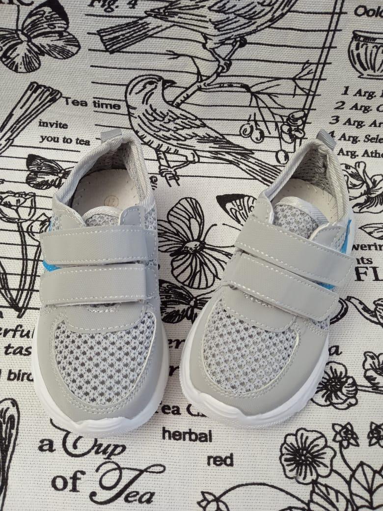 Детские кроссовки для мальчиков, цвет: серый, артикул: KL-F34-3
