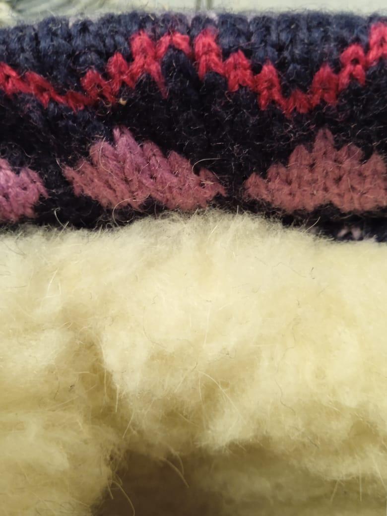 Детские валенки зимние для девочек М-МИЧИ, цвет: красный, артикул: ML9421A-7