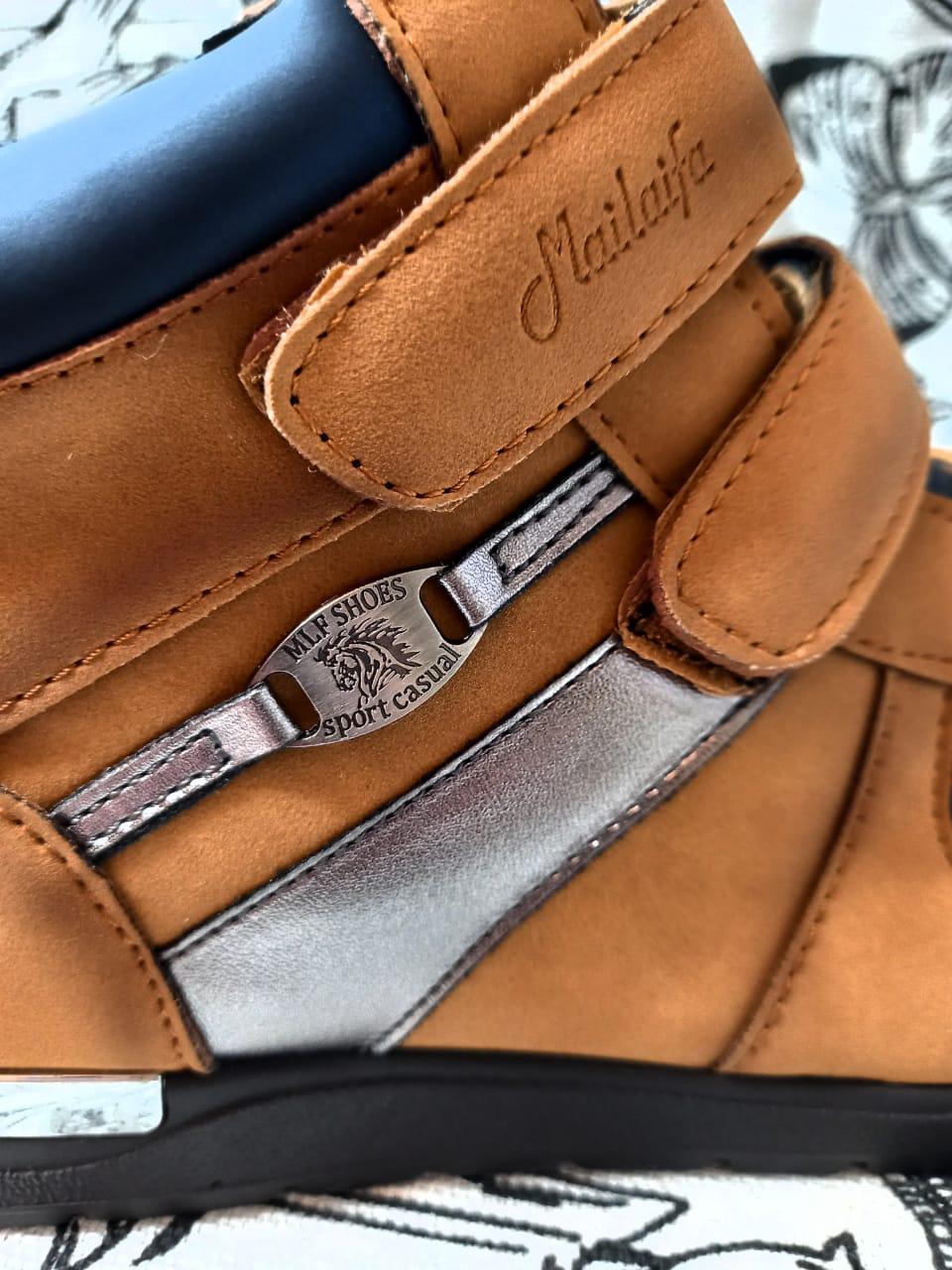 Детские ботинки, цвет: бежевый, артикул: BH302-6
