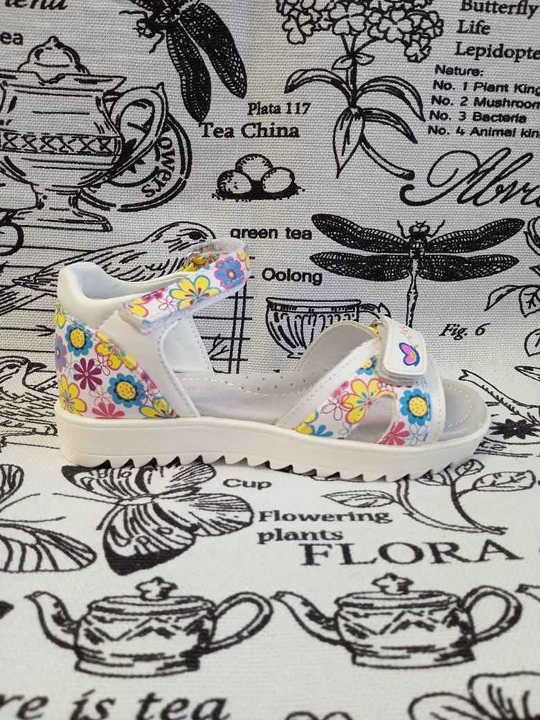 Детские сандалии для девочек BADIMAO, цвет: белый, артикул: Badimao1-2
