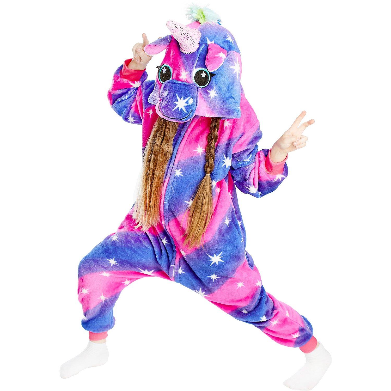 Кигуруми Единорог, цвет: фиолетовый, артикул: KIG-4