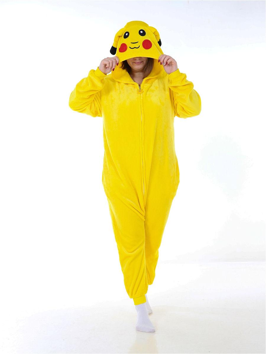 Кигуруми Пикачу, цвет: желтый, артикул: KIG-2