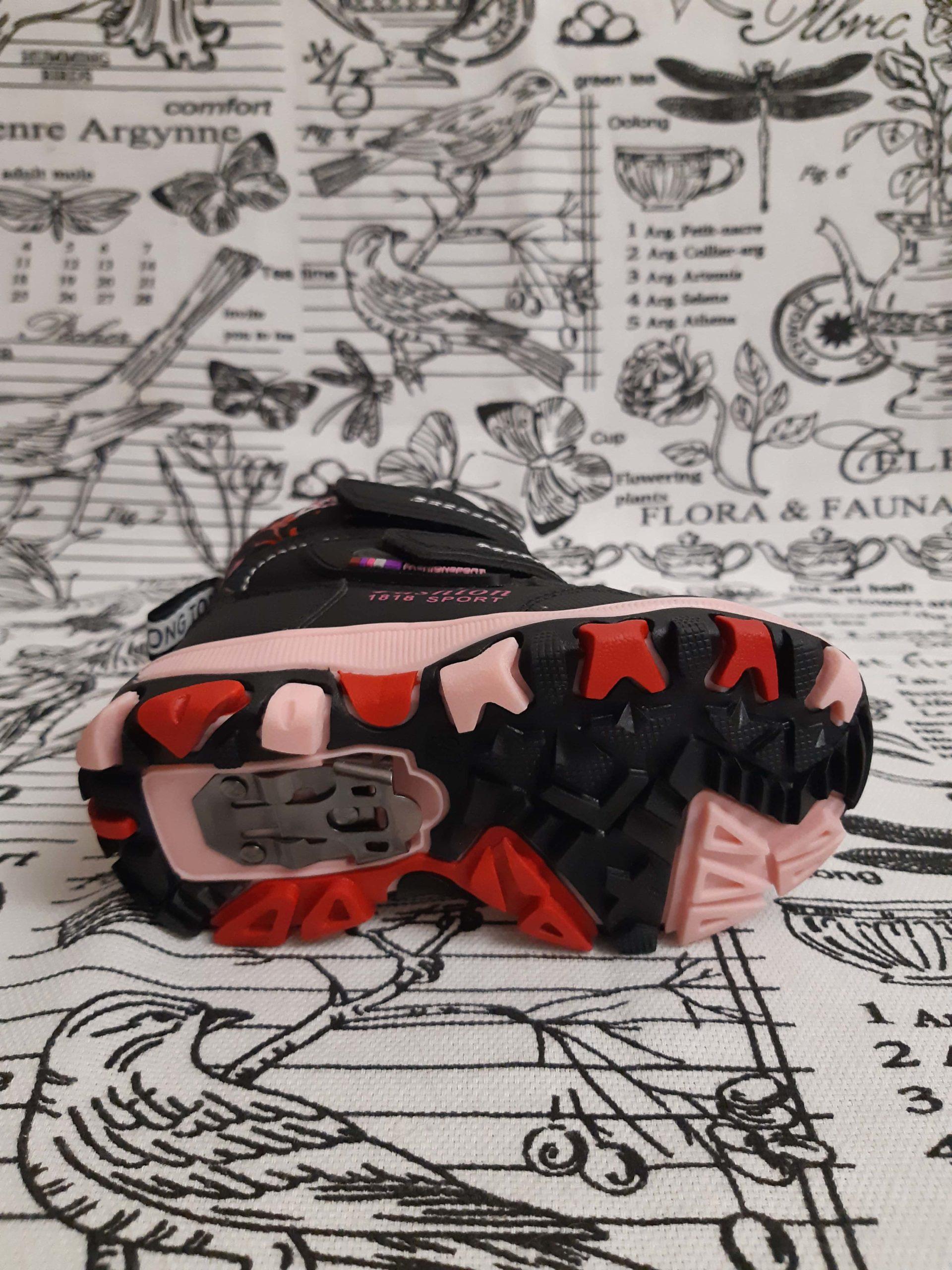Детские сноубутсы зимние для девочек Царевна, цвет: розовый, артикул: B802-1-1