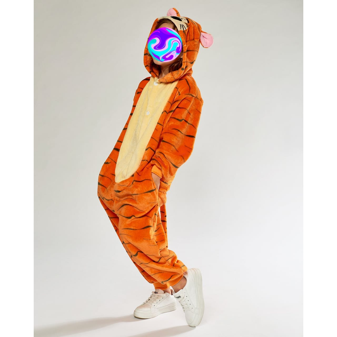 Кигуруми Тигра, цвет: оранжевый, артикул: KIG-7