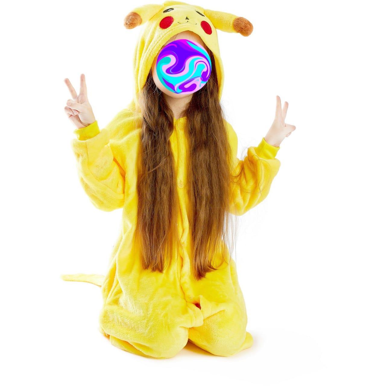 Детский кигуруми Пикачу, цвет: желтый, артикул: KIG-2