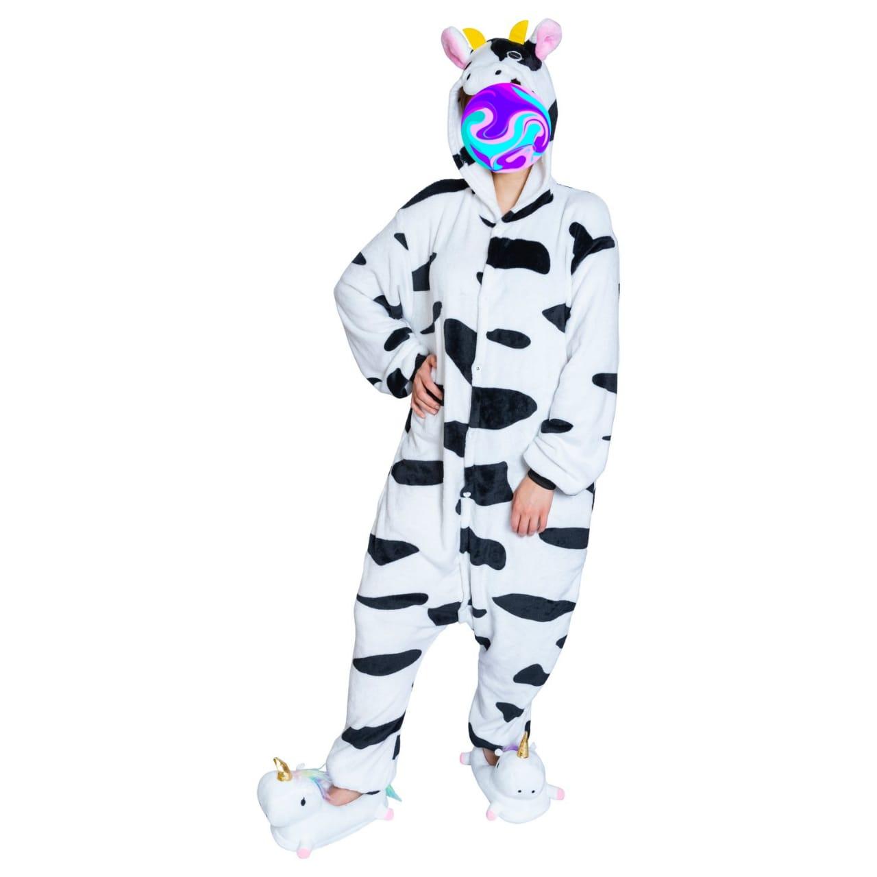 Детский кигуруми Корова, цвет: белый, артикул: KIG-13