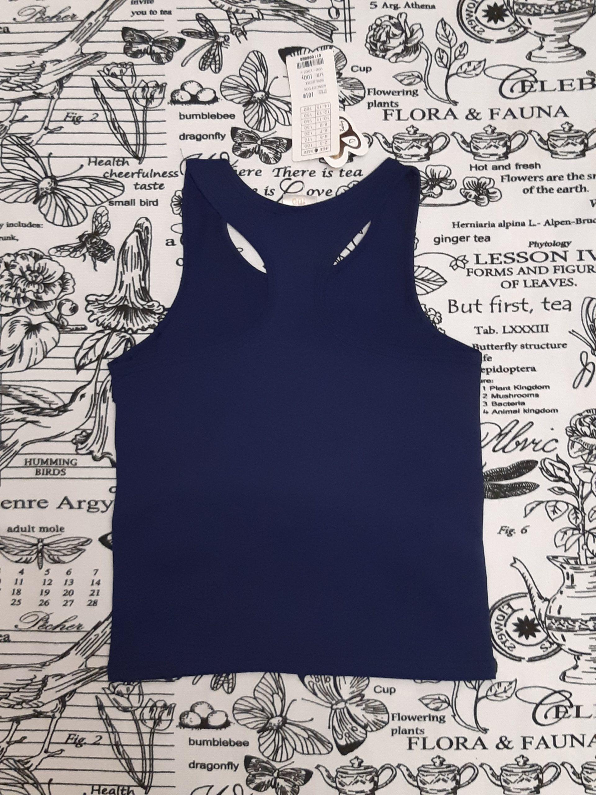 Детская футболка с 3D эффектом для мальчика, цвет: темно-синий