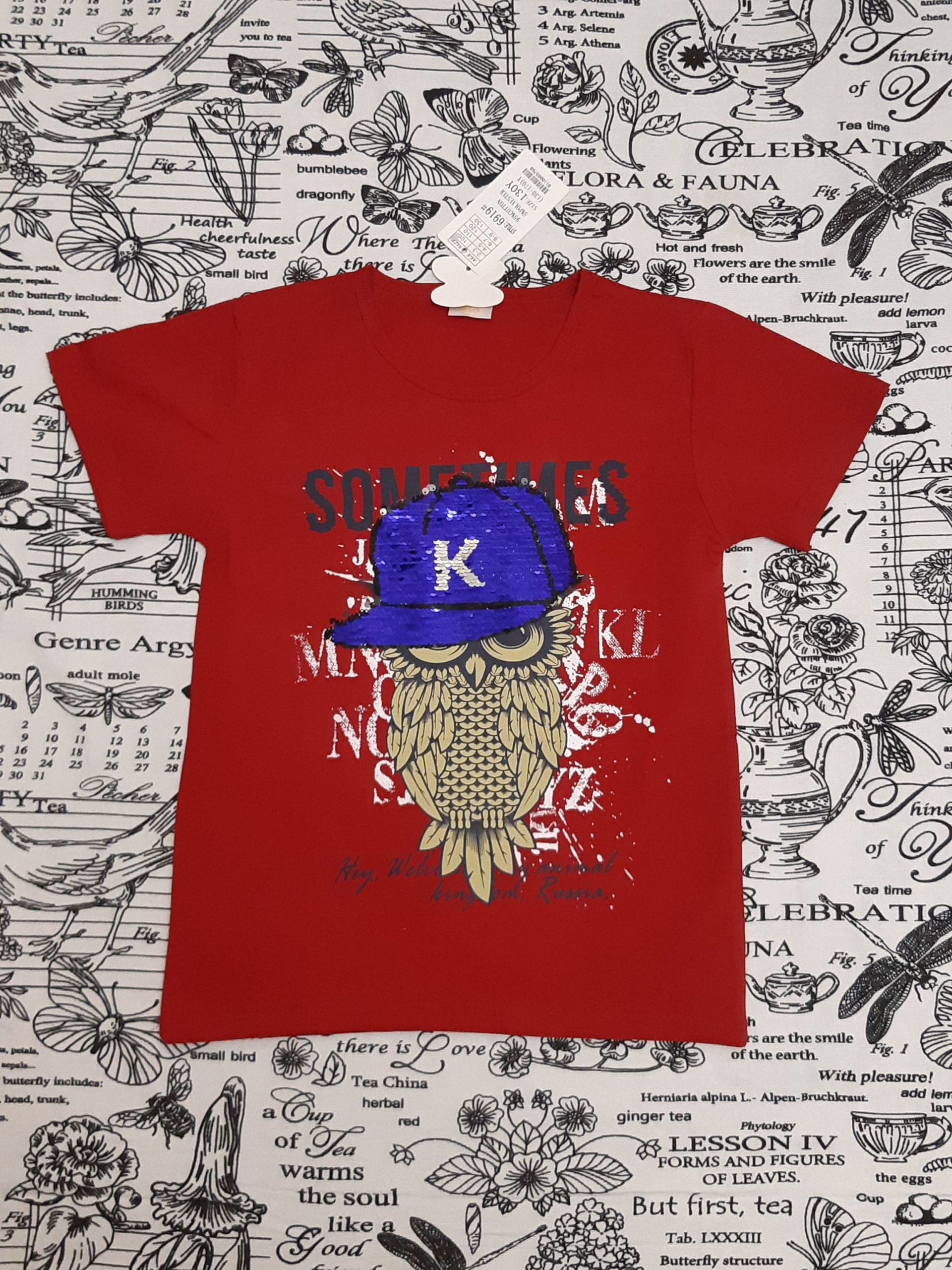 Детская футболка с совой