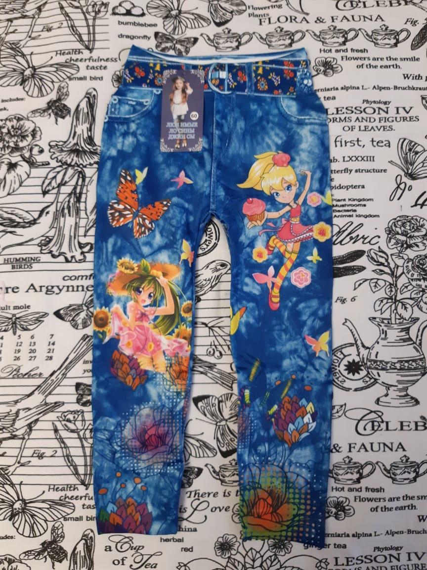Детские леггинсы джинсы