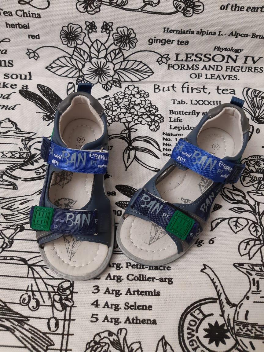 Детские сандалии для мальчиков M+D
